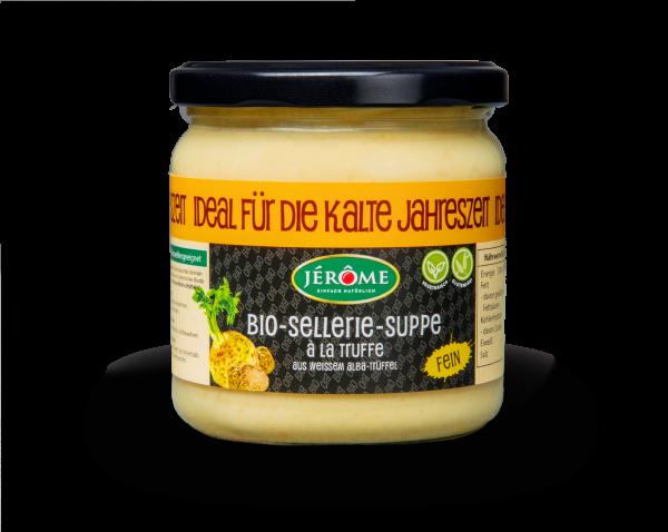 JÉRÔME Bio-Sellerie-Suppe á la Truffe, Aktion