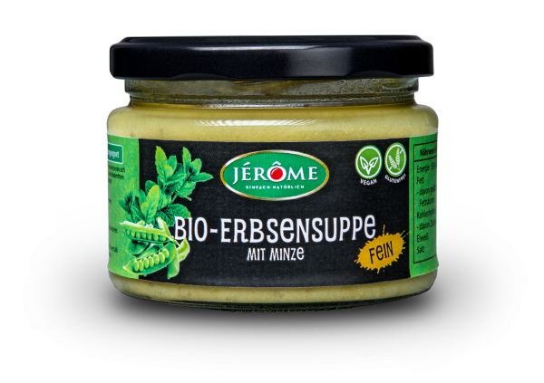Jérôme Bio-Erbsensuppe mit Minze, Single