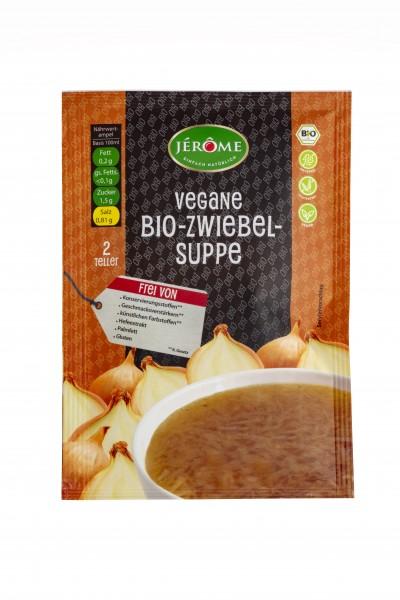 JÉRÔME vegane Bio-Zwiebelsuppe, Fix