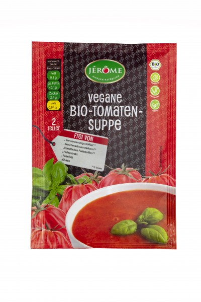 JÉRÔME vegane Bio-Tomaten-Suppe, Fix