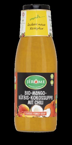 JÉRÔME vegane Bio- Mango-Kürbis-Kokossuppe, Family