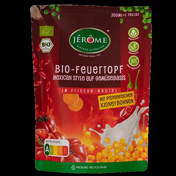 JÉRÔME Bio-Feuertopf Mexican Style auf Gemüsebasis