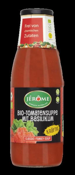 JÉRÔME kräftige Bio-Tomatensuppe mit Basilikum, Family